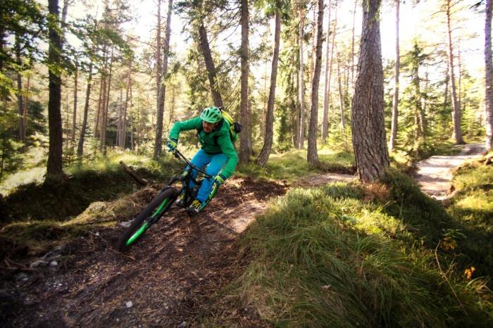 Mountain Biking Mountains Adventure Camping Anderwald