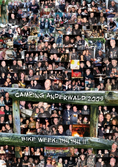 Camping Anderwald Poster 2009