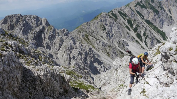 Klettersteig Oostenrijk : Klettersteigwochenende in mai & juni. camping anderwald