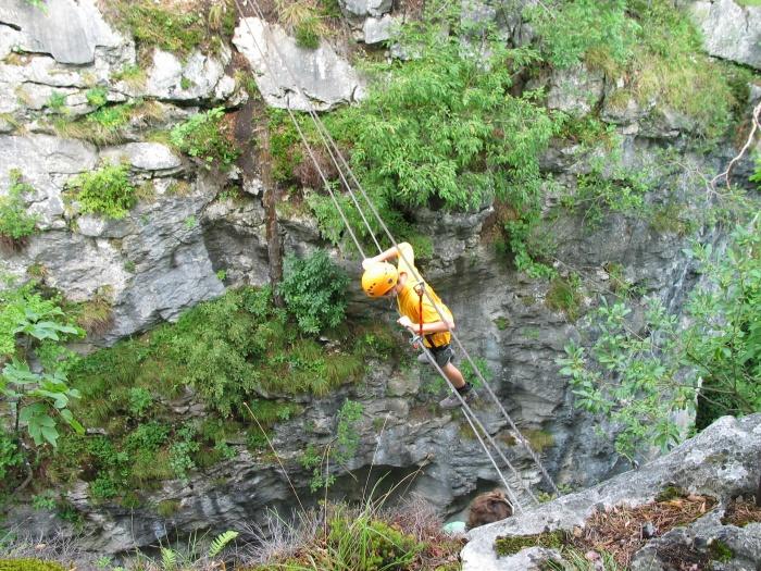 Klettersteig In English : Klettersteigwochenende in mai & juni. camping anderwald