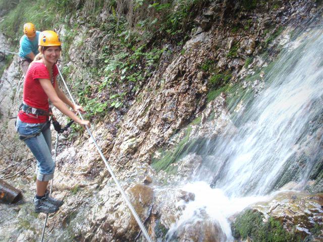 Klettersteigset Ausleihen : Klettern am faaker see! campen im uferwald! camping anderwald